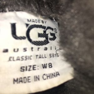 UGG Shoes - 🌟Brown Ugg Australia Suede with Gray Fur size 8🌟